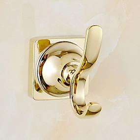 preiswerte Duschvorhänge-Kleiderhaken Moderne Messing 1 Stück - Hotelbad