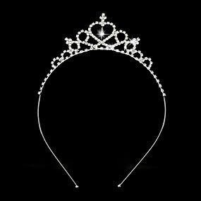 preiswerte Vorverkauf-Strass / Aleación Tiaras / Stirnbänder mit 1 Hochzeit Kopfschmuck