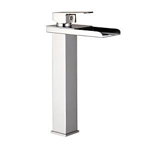 preiswerte MLFALLS®-Waschbecken Wasserhahn - Thermostatische Chrom Becken Einhand Ein LochBath Taps