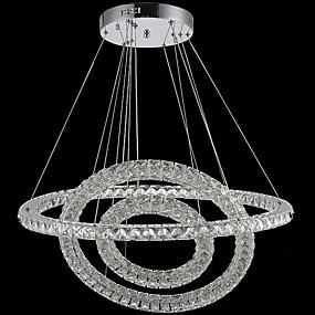 povoljno Viseća rasvjeta-Privjesak Svjetla Ambient Light Electroplated Metal Crystal, LED 110-120V / 220-240V Meleg fehér / Hladno bijela Uključen je LED izvor svjetlosti / Integrirano LED svjetlo