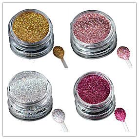 preiswerte Nagel-Funkeln-1pc Acrylpulver / Puder / Glitzerpulver Glitter & Funkeln / Laser-Holografie Nagel-Kunst-Design