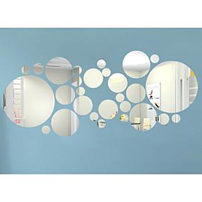 preiswerte Up To 80% Off For Home Decor-3D Wand-Sticker Spiegel Wandsticker Dekorative Wand Sticker, Vinyl Haus Dekoration Wandtattoo Wand