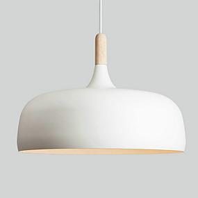povoljno Stropna svjetla i ventilatori-QINGMING® Privjesak Svjetla Downlight Slikano završi Metal dizajneri 110-120V / 220-240V Bulb Included / E26 / E27