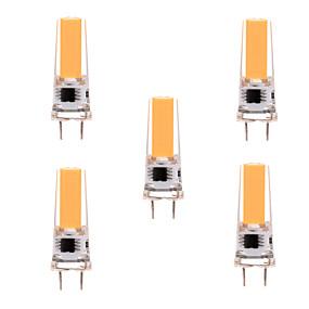cheap LED Bi-pin Lights-5PCS G8 2508 5W 350-450 lm LED Bi-pin Light Warm White Cool White Dimmable 360 Beam Angle Lights Spotlight AC 110-130V AC 220-240V