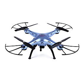 preiswerte SYMA®-RC Drohne SYMA X5HW RTF 4 Kan?le 6 Achsen 2.4G Mit HD - Kamera 0.3MP 480P Ferngesteuerter Quadrocopter FPV / LED-Lampen / Kopfloser Modus Ferngesteuerter Quadrocopter / Fernsteuerung / Mit Kamera