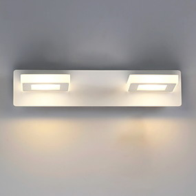 preiswerte Sales-Modern / Zeitgenössisch Badezimmerbeleuchtung Metall Wandleuchte IP44 110-120V / 220-240V 3W