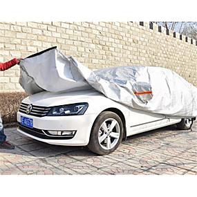 billige Tilbehør til eksteriør-aluminium filmen er halvautomatisk semi intelligent bil plagg bil dekke sol regn isolasjon