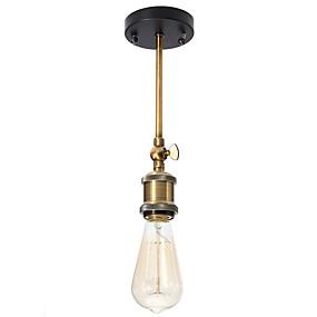 povoljno Viseća rasvjeta-CXYlight Flush Mount Ambient Light Slikano završi Metal Mini Style 110-120V / 220-240V Bulb not included / E26 / E27