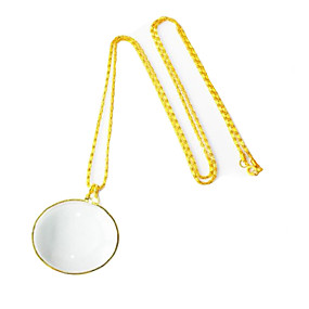 preiswerte Lupen-OUJIN 6 X Lupen Spiegel Hochauflösend Metal