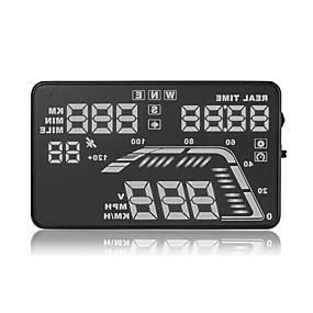 preiswerte Frontscheiben-Anzeigen-GPS-Kopf-up-Display Satelliten velocimetry Höhe Instrument, um die fünf Absatz der allgemeinen Alarm Kompass hud
