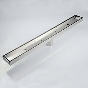 저렴한 가게-배수관 제품 콘템포라리 스테인레스 1 개 - 욕실 바닥 내장