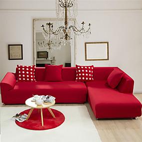 preiswerte Haustextilien-Sofabezug Solide Jacquard 65% Viskose / 35% Polyester Überzüge