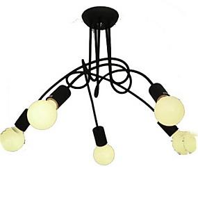 povoljno Stropna svjetla i ventilatori-BriLight sputnjik Lusteri Ambient Light Slikano završi Metal svijeća Style 110-120V / 220-240V Bulb not included / E26 / E27