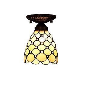 preiswerte Tiffany-Glaskunst Beleuchtung-Unterputz Moonlight - LED Designer, Tiffany, 110-120V 220-240V, Gelb, Glühbirne nicht inklusive