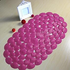voordelige Matten & Tapijten-1pc Modern Badmatten PVC Modern Badkamer Makkelijk schoon te maken