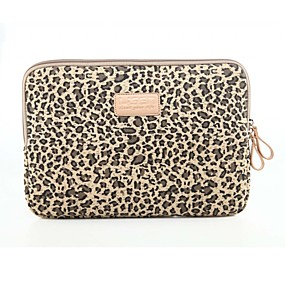 cheap Sleeves,Cases & Covers-Classic Leopard Laptop Sleeve Notebook Bag Laptop Case Cover Liner Bag Shockproof 15.6 inch