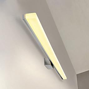 povoljno Lámpatestek-Moderna LED svjetiljka s kupaonicom od 20 cm od 20 mm nehrđajuća i akrilna zidna rasvjeta