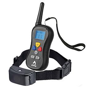 preiswerte Hundehalsbänder & Leinen-Hund Bellhalsband Training - Hundhalsbänder Wasserdicht Anti Bark LCD Solide Nylon Schwarz