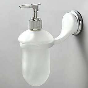 cheap Soap Dispensers-Soap Dispenser Contemporary Stainless Steel 1 pc - Hotel bath