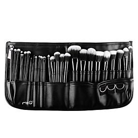 preiswerte MSQ®-Professional Makeup Bürsten Bürsten-Satz- 29 Stück Professionell vollständige Bedeckung Synthetik Künstliches Haar / Kunstfaser Pinsel Holz Make-up Pinsel zum Make - Up Pinselset