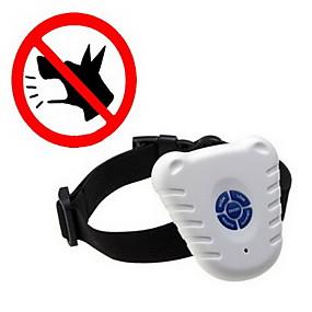 preiswerte Hundehalsbänder & Leinen-Hund Bellhalsband Anti Bark Eletrisch / Elektrisch Ultraschall Solide Kunststoff Nylon Weiß