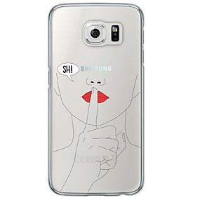 povoljno Maske za mobitele-Θήκη Za Samsung Galaxy S7 edge / S7 / S6 edge plus Ultra tanko / Translucent Stražnja maska Other Mekano TPU