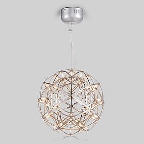 povoljno Viseća rasvjeta-Glob Privjesak Svjetla Ambient Light Slikano završi Metal LED 110-120V / 220-240V Žuta / Bijela / G4