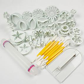 preiswerte Super Sale-ABS Kuchen dekorieren Backen-Werkzeug Modisch Kuchen Plätzchen Cupcake Gebäck-Werkzeug Backwerkzeuge