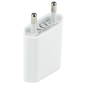 preiswerte Handys & Elektronik-Adapter / Ladegeräte für Zuhause / Tragbares Ladegerät USB-Ladegerät EU Stecker Lade-Kit 1 USB Anschluss 1 A für