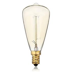 preiswerte Versandfertig in 24 Stunden-st48 e14 40w glühlampe vintage glühbirne für haushalt bar café hotel (ac220-240v)