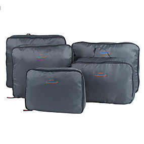 cheap Travel Bags-5 sets Travel Bag / Travel Organizer / Travel Luggage Organizer / Packing Organizer Large Capacity / Portable / Foldable Clothes Nylon Travel / Durable