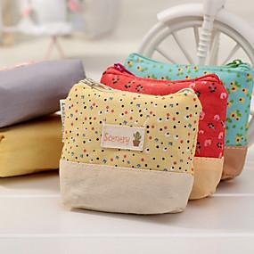 preiswerte Taschen & Geldbörsen-Blumenmeer Textil Portemonnaie
