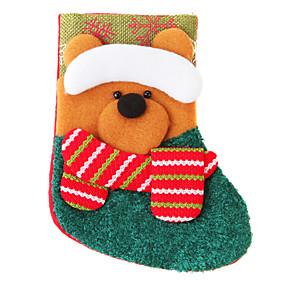 preiswerte Spielzeug für Weihnachten-Weihnachtsdeko Urlaubszubehör Silvester / Weihnachten / Halloween Gewebe