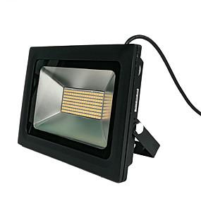 preiswerte Wand- & Ölbilder-100 W LED Flutlichter Wasserfest / Schwenkarm / Leicht zu installieren 220-240 V Garage / Carport / Außenbeleuchtung LED-Perlen