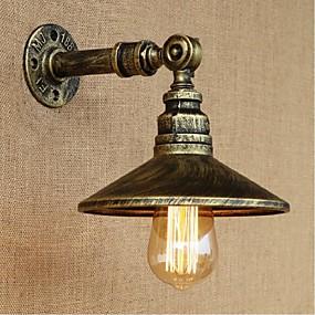 povoljno Lámpatestek-Rustic / Lodge Zidne svjetiljke Metal zidna svjetiljka 110-120V / 220-240V 40W