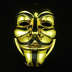 preiswerte Zubehöre für Halloween Party-cosplay Maske v für vendetta Maske anonyme Film Kerl fawkes halloween Maskerade cosplay Maske Partei Kostüm Stütze