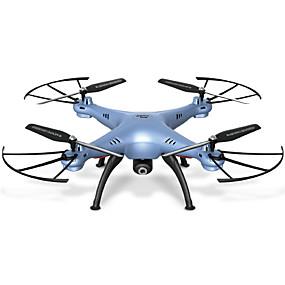 preiswerte SYMA®-RC Drohne SYMA X5HW 4 Kan?le 6 Achsen 2.4G Mit HD - Kamera 0.3MP 480P Ferngesteuerter Quadrocopter FPV / Ein Schlüssel Für Die Rückkehr / Ausfallsicher Ferngesteuerter Quadrocopter / Fernsteuerung