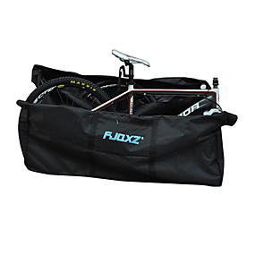 preiswerte Fahrradreisetasche-FJQXZ 130 L Bike Transport und Lagerung Abdeckung Hohe Kapazität Wasserdicht Rasche Trocknung Fahrradtasche 1680D Polyester Oxford Tasche für das Rad Fahrradtasche Radsport / Fahhrad