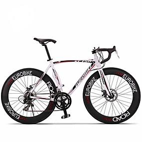 preiswerte Cycling Clearance-Rennräder Radsport 14 Drehzahl 26 Zoll / 700CC SHIMANO A050 Doppelte Scheibenbremsen Ohne Dämpfung Monocoque - Rahmen / Ungefederte Rahmen gewöhnlich Aluminiumlegierung
