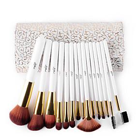 preiswerte MSQ®-Professional Makeup Bürsten Bürsten-Satz- 15pcs Professionell Synthetik Hypoallergen Antibakteriell Borstenpinsel / Künstliches Haar / Kunstfaser Pinsel Make-up Pinsel zum Make - Up Pinselset