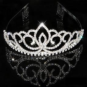preiswerte Vorverkauf-Damen Strass Kristall Kopfschmuck-Hochzeit Besondere Anlässe Tiara