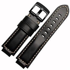cheap Smartwatch Bands-Watch Band for Vivoactive HR Garmin Sport Band Metal / Leather / Rubber Wrist Strap