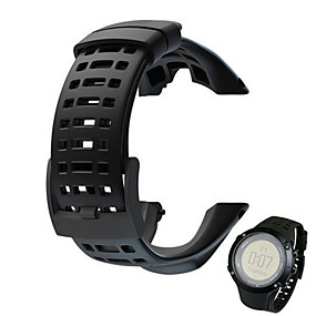 cheap Smartwatch Bands-Watch Band for SUUNTO AMBIT 2 Suunto Sport Band Rubber Wrist Strap