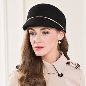 povoljno Melbourne Cup Carnival Hats-Vuna / Legura Kentucky Derby Hat / kape s 1 Special Occasion / Kauzalni Glava