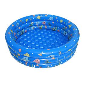 preiswerte Kiddie Pools-Aufblasbare Luftmatratzen Kinder-Planschbecken Planschbecken Aufblasbarer Pool Fische Spaß Spielzeuge Geschenk