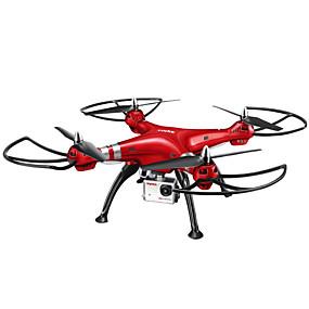 preiswerte SYMA®-RC Drohne SYMA X8HW 4 Kan?le 6 Achsen 2.4G Mit HD - Kamera 5.0MP 1920*1080 Ferngesteuerter Quadrocopter LED-Lampen / Ein Schlüssel Für Die Rückkehr / Auto-Takeoff Ferngesteuerter Quadrocopter