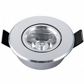 preiswerte LED Einbauleuchten-1 stück 2 watt warm kaltweiß mini runde led einbauleuchte licht lampen für wohnzimmer kabinett schlafzimmer ac85-265v