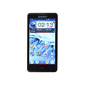 preiswerte Handy & Elektronik Ausverkauf-Lenovo Lenovo P780 5 Zoll / 4.6-5.0 Zoll Zoll 3G-Smartphone (1GB + 4GB 8 mp MediaTek MT6589 4000mAh mAh) / 1280x720 / Quad Core