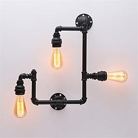 preiswerte Beleuchtung Rabatt Neuerscheinungen-Rustikal / Ländlich / Retro / Neuheit Wandlampen Metall Wandleuchte 110-120V / 220-240V Max 60W / E26 / E27