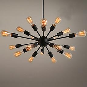 povoljno Lámpatestek-Ecolight™ sputnjik Lusteri Ambient Light Slikano završi Metal dizajneri 110-120V / 220-240V Bulb not included / E26 / E27